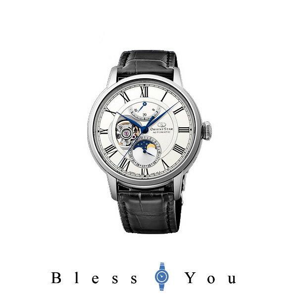 【予約販売/12月入荷予定】オリエントスター メカニカルムーンフェイズ 腕時計 メンズ 自動巻き ORIENT STAR RK-AM0001S 170,0