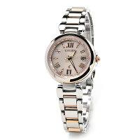 シチズンクロスシーエコドライブソーラー電波時計レディース腕時計ハッピーフライトEC1034-59W