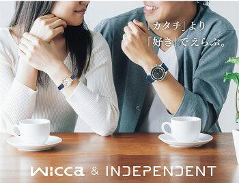 ペアウォッチシチズンインディペンデントandウィッカkl8-619-54-kl0-821-1062,0[お取り寄せ]INDEPENDENT×wiccaソーラー電波時計
