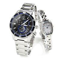 ペアウォッチウィッカ/シチズンコレクション■VO10-6741F-KF3-010-9351,0腕時計ソーラーペアカップルブランド