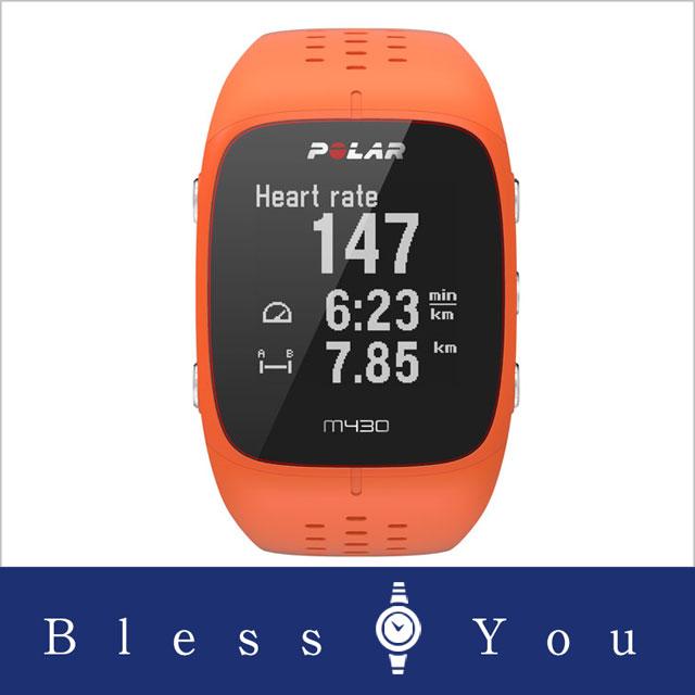ポラール M430 オレンジ Mサイズ POLAR M430 90064409 29,8 手首型6LED光学式心拍計を搭載したGPSランニングウォッチ安心の国内正規品で2年保証付