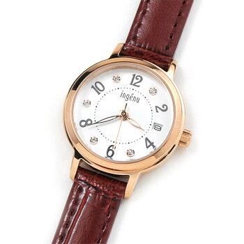 ALBAingenuアルバ腕時計レディースアンジェーヌレザーバンドAHJK4469,0