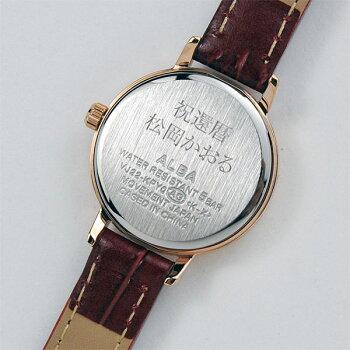 セイコーSEIKOALBAingenuアルバ腕時計レディースアンジェーヌレザーバンドAHJK4469,0