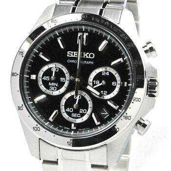 セイコー腕時計メンズセイコーセレクションSBTR013ブラック30,0