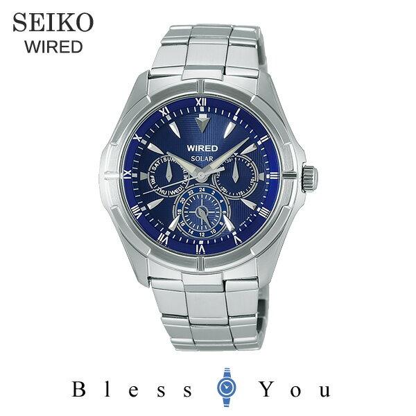 ポイント10倍 セイコー ソーラー 腕時計 メンズ ワイアード AGAD033 20,0