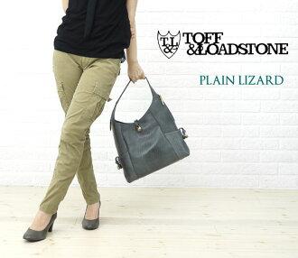 "TOFF&LOADSTONE( トフ & lodestone) model push leather one shoulder bag ""Plain lizard"", TL-4030-1471202 fs3gm"
