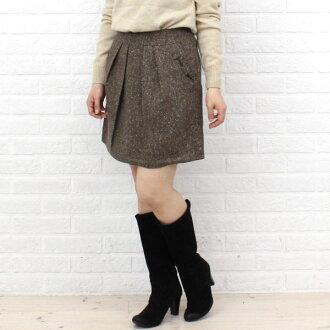 Innowave (イノウェーブ) Tweed Ribbon skirt-88-8742