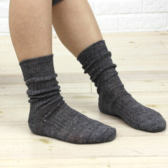"""Linen short socks """"シャビーソックス"""", 112-157-1851401"""