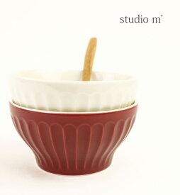 【スタジオエム studio m'】半磁器 小鉢 丼 ボウル・BOWL-2731901【レディース】【1F-W】【雑貨・インテリア】
