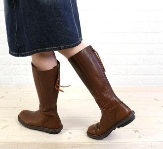"TRIPPEN (trippen) leather back zip boots ""WALL""-WALL-DPW-0071402"