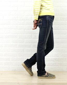 Betty Smith (Betty Smith) flap ZIP denim pants (distressed) and BAW 2026W-1981302