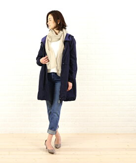 "Polyester middle-length hooded coat ""VENITIELLE""-VENITIELLE-2011601"