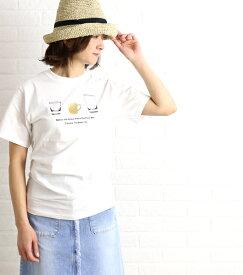 【エントリーでP10倍】【ヴェリテクール Veritecoeur】COPAINS コットン 半袖 Tシャツ TAG Tee・COC-014-2421601【メール便可能商品】[M便 5/5]【レディース】【トップス】【VT】