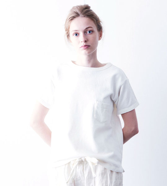 【g 】 Gauze# Basic Line(グラム)コットン 度詰め裏毛 半袖 Tシャツ・g027-3541601【レディース】【トップス】【VT】