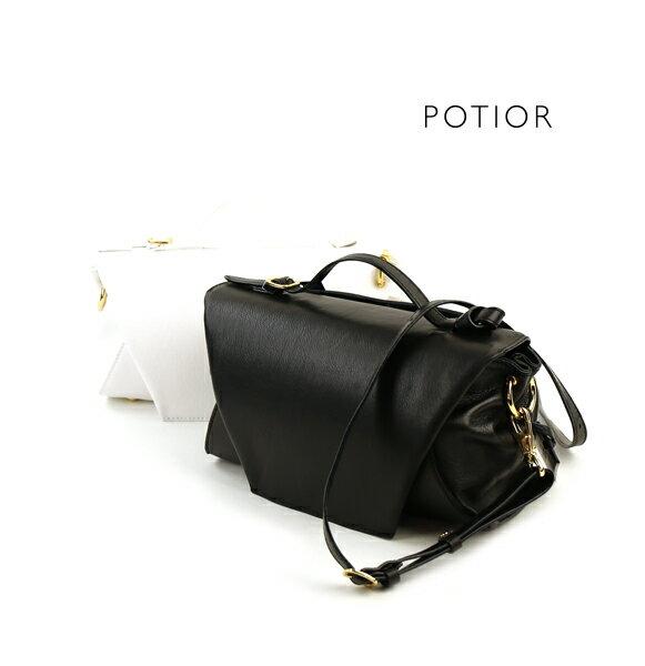 【ポティオール PotioR】レザー 2WAY ショルダー ミニバッグ ハンドバッグ・SO-0127-2701701【レディース】【last_1】【A4】【◎】