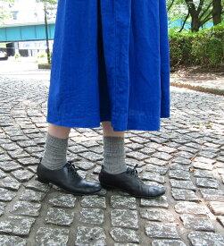 【フレンチブル French Bull】リネン混 ショートソックス 靴下 プレーリーソックス・118-105-1852001【メール便可能商品】[M便 2/5]【レディース】【JP】