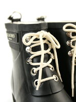 ILSEJACOBSEN(イルセヤコブセン)ナチュラルラバーレースアップRUB2レインブーツラバーブーツショートブーツ長靴・88171202003