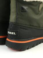 SOREL(ソレル)ナイロン防水ボアライニングショートブーツウインタースニーカーCOZYCARNIVAL・NL2297
