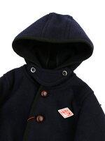 DANTON(ダントン)ウールモッサキッズフード付きジャケット・JD-8576WOM