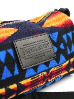 PENDLETON(ペンドルトン)ウールコットンネイティブ柄2WAYショルダーバッグポーチドップバックウィズストラップ・19801041