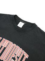 RITAJEANSTOKYO(リタジーンズトウキョウ)コットンクルーネック半袖ロゴプリントTシャツカットソーPIGMENTCREWTEE・RT18SSPGT-01