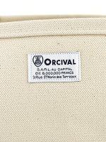 ORCIVAL(オーチバル・オーシバル)コットンキャンバス24oz帆布トートバッグ・RC-7042HVC