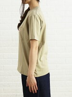 DANTON(ダントン)空紡コットン半袖クルーネックポケットTシャツカットソー・JD-9041