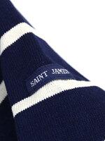 SAINTJAMES(セントジェームス)コットン長袖ボートネックボーダーカットソーウェッソンクレイジー・17JCOUES-CRAZY