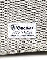 ORCIVAL(オーチバル・オーシバル)シャンブレー帆布スクエアトートバッグ・RC-7137CCH