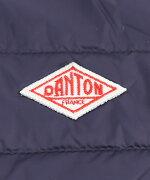 DANTON(ダントン)クルーネックメンズインナーダウンライトダウンジャケット・JD-8751