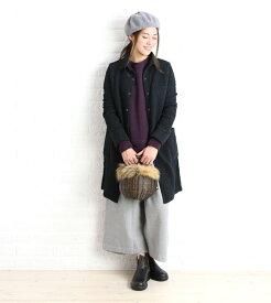 【アーメン ARMEN】コットンキルト シャツカラー キルティングコート ・NAM0362-0341902【レディース】
