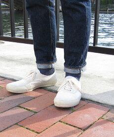 【フレンチブル French Bull】Jake MEN'S リネン ショート 靴下 シャインソックス・214-122-1852001【メール便可能商品】[M便 3/5]【メンズ】【JP】