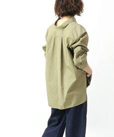 【ジムフレックス Gymphlex】ツイルバイオウォッシュ オーバーサイズシャツ ワークシャツ・J-1355VTW-0321902【レディース】【JP】【■■】【クーポン対象外】