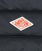 DANTON(ダントン)クルーネック長袖インナーダウンジャケットライトダウン・JD-8748