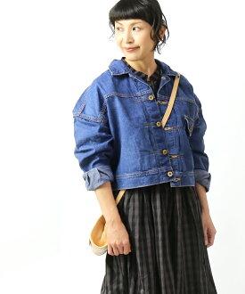 Cotton denim denim jacket G Jean COWGIRL JACKET cowgirl jacket, LL2619-4251902