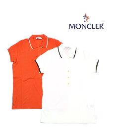 【モンクレール MONCLER】コットン ポロシャツ 半袖Tシャツ・84210-2011902【レディース】