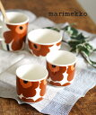 【マリメッコ marimekko】 ウニッコ柄 コーヒーカップセット コップ 2個セット UNIKKO COFFEE CUP 2 DL W/O H・522094…