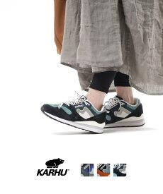 【D-3】【カルフ KARHU】スエード×レザー スニーカー シューズ 靴 SYNCHRON CLASSICS シンクロンクラシック・SYNCHRON-CL-4562002【レディース】