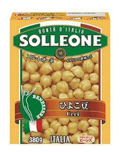 ソル・レオーネ ひよこ豆 (テトラパック) 380g x16個セット