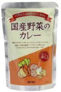 【メール便】国産野菜のカレー辛口 200g ムソー muso