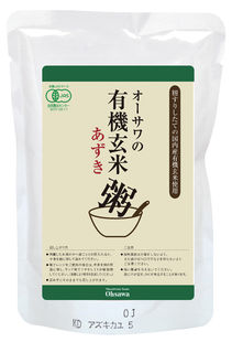 【メール便】有機玄米あずき粥 200g