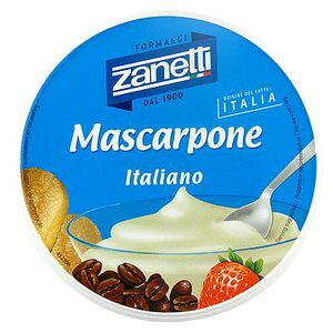 【送料無料】ザネッティ マスカルポーネ 250g×2個セット フレッシュ・クリームチーズ ムラカワ 冷蔵