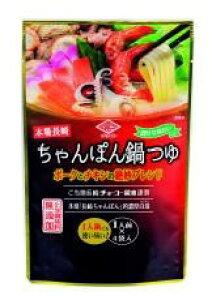 【送料無料(メール便)】本場長崎ちゃんぽん鍋つゆ 30ml×4袋  チョーコー ムソー muso