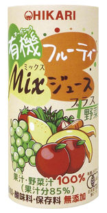 有機フルーティ−Mixジュース プラス野菜 195g 光食品株式会社