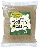 オーサワの有機 生芋糸こんにゃく 180g オーサワジャパン