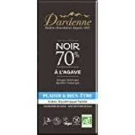 ダーデン 有機アガベチョコレート ダーク カカオ 70% 100gx15(ケース売り)