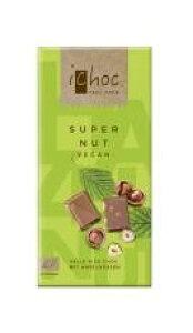 【送料無料(メール便)】ichoc オーガニックチョコ スーパーナッツ 80gx2個セット ムソー