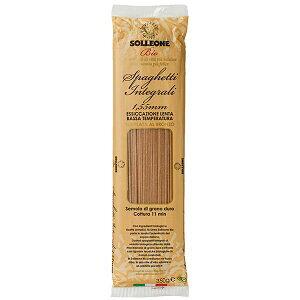 ソル・レオーネビオ オーガニック・ブロンズダイス・全粒粉スパゲッティ 350g 1.55mm 20個セット