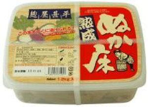 【送料無料】麹屋甚平・熟成ぬか床(容器入) 1.2kgx2個セット マルアイ ムソー