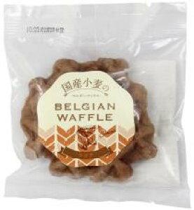 【送料無料】ムソー クロスロード 国産小麦のベルギーワッフル・ココア 1個x2セット